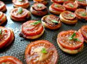 Petites tartes fines tomates oignons rouges