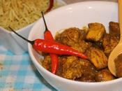 Poulet pate Curry rouge piment {Inde}