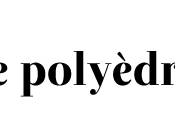 bonnes adresses idées livres blog Polyèdre
