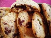 Cookies Chocolat Noir Pistaches sans Lactose