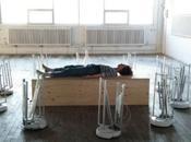 #ArtMTL Swarming Emotional Pianos d'@_ErinGee. mixture robotique, l'art performance l'@EasternBlocMtl