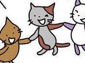 Trois ptits chats, mars