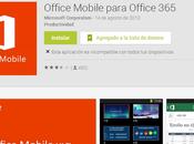 Microsoft Office disponible gratuitement pour Android