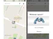 Google Maps Pokémon capturer Android