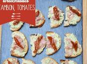Tartinade artichauts, jambon tomates séchées