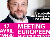 avril, meeting européen Cirque d'Hiver