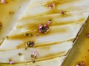 gâteau d'asperges, vinaigrette huile d'olive fleurs thym (d'après Emmanuel Renaut)