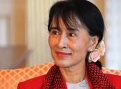 BIENVENUE. Après Berlin, Aung passage Paris pour rencontrer François Hollande Laurent Fabius avant retour Birmanie
