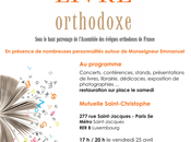 Salon livre orthodoxe: avril 2014 Paris