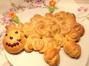 Agneau Pâques brioché