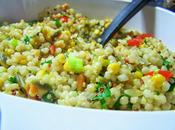 Estival maïs Salade couscous marocain