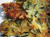 Rostis pommes terre crues ciboulette Bories Provence Ménerbes Luberon