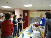 atelier cuisine avec classe d'italien lycée h...
