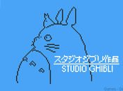 PixelArt studio Ghibli version 8-bits