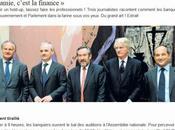 comment banquiers français roulé gouvernement Parlement dans farine