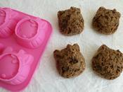 muffins hyperprotéinés céréales chocolat sirop d'érable (sans oeufs sucre beurre)