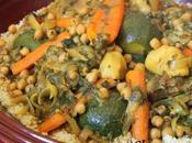 Couscous poulet, agneau légumes