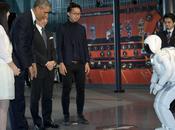 rencontre entre Président Obama ASIMO!