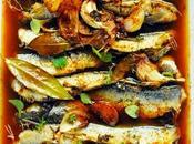 L'huile d'olive, l'Espagne Sardines l'escabèche menu peut-être pour vous