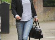 Encore fois sans faute look Kate Moss dans rues Londres...
