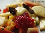 Papillotes fruits miel
