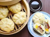 Banh (Brioche vapeur farcie porc champignons)