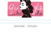 Doodle pour célébrer naissance d'Audrey Hepburn