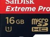Promo éclair réduction Carte mémoire microSDHC UHS-I classe Extreme SanDisk SDSDQXP-016G-FFP