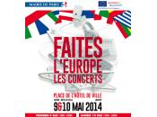 Faites l'Europe soirées concerts gratuits Paris