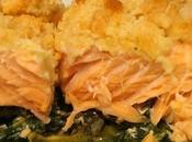Crumble Saumon Epinards (surgelés)