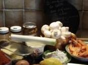 mange quoi demain Blanquette lotte safran champignons