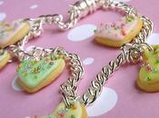 [Tuto Fimo] Bracelet Coeurs Gourmands