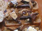 Paninis champignons frais brie