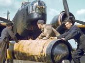 guerre France sous bombes alliés soir