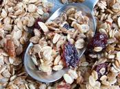 Maple Pecan Cranberry Granola sirop d'érable, noix pécan canneberges