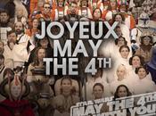 saga Star Wars fête joyeux tous