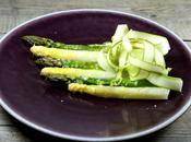 Gratin d'asperges vertes blanches parmesan façon Ducasse