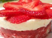 Entremet fraises