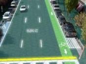 routes produisaient l'électricité (Solar Roadways)