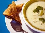 Parfait pour temps pluvieux, soupe d'asperges blanches