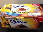 Velours crème Laitière caramel chocolat lait