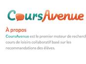 CoursAvenue.com trouvez cours loisirs près vous