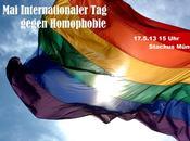 Munich: Stachus contre l'homophobie/ Kiss-In Müllerstrasse