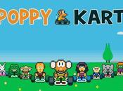 Poppy Kart Mario like mobiles tient route!