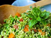 idee recette Couscous marocain Tomatoes épinards