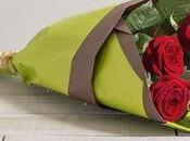 Offrir quelques rose beau bouquet avec Interflora