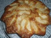 Gâteau pommes sucre perlé