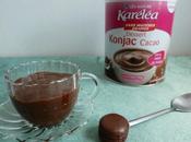 crème dessert diététique cacao moka konjac seulement calories (sans oeufs)