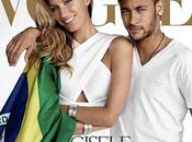 Neymar couv Vogue Brésilien avec Gisele Bünchen