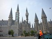 vrai campus Chinois ressemble l'école d'Harry Potter